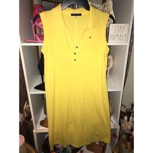 Yellow Tommy Hilfiger Dress